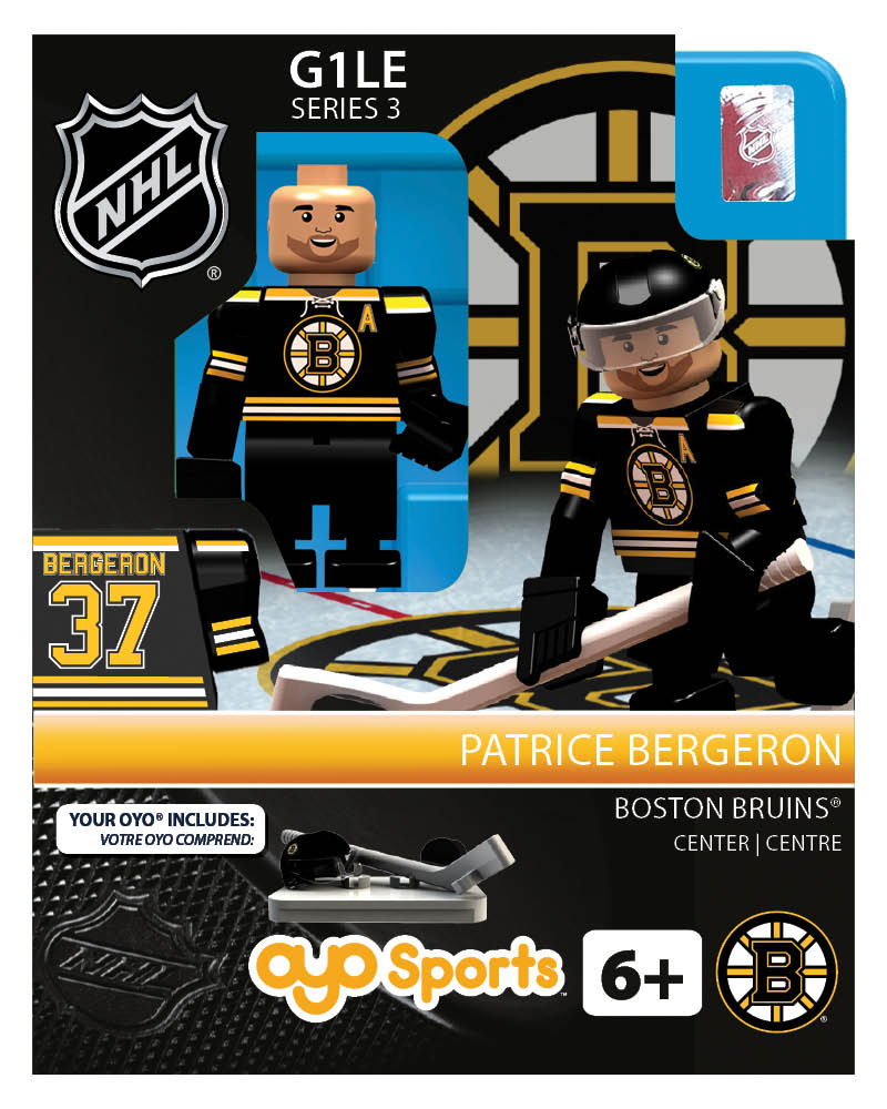 NHL - BOS - Boston Bruins Patrice Bergeron Home Uniform Limited Edition
