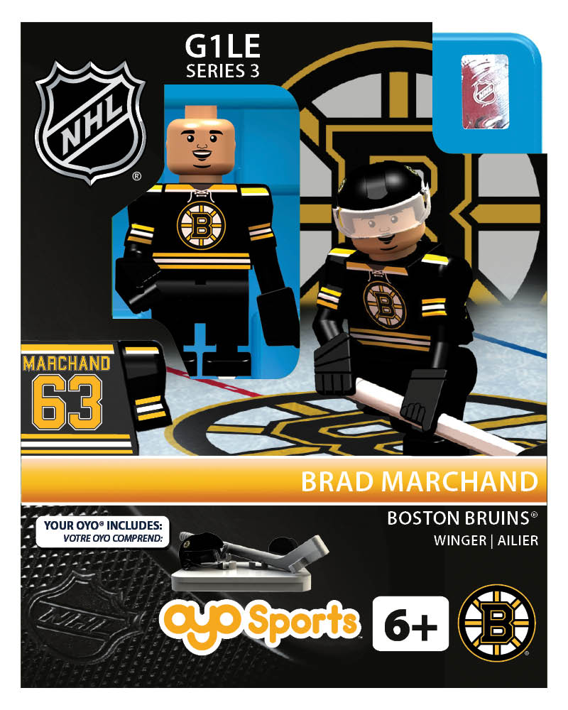 NHL - BOS - Boston Bruins Brad Marchand Home Uniform Limited Edition
