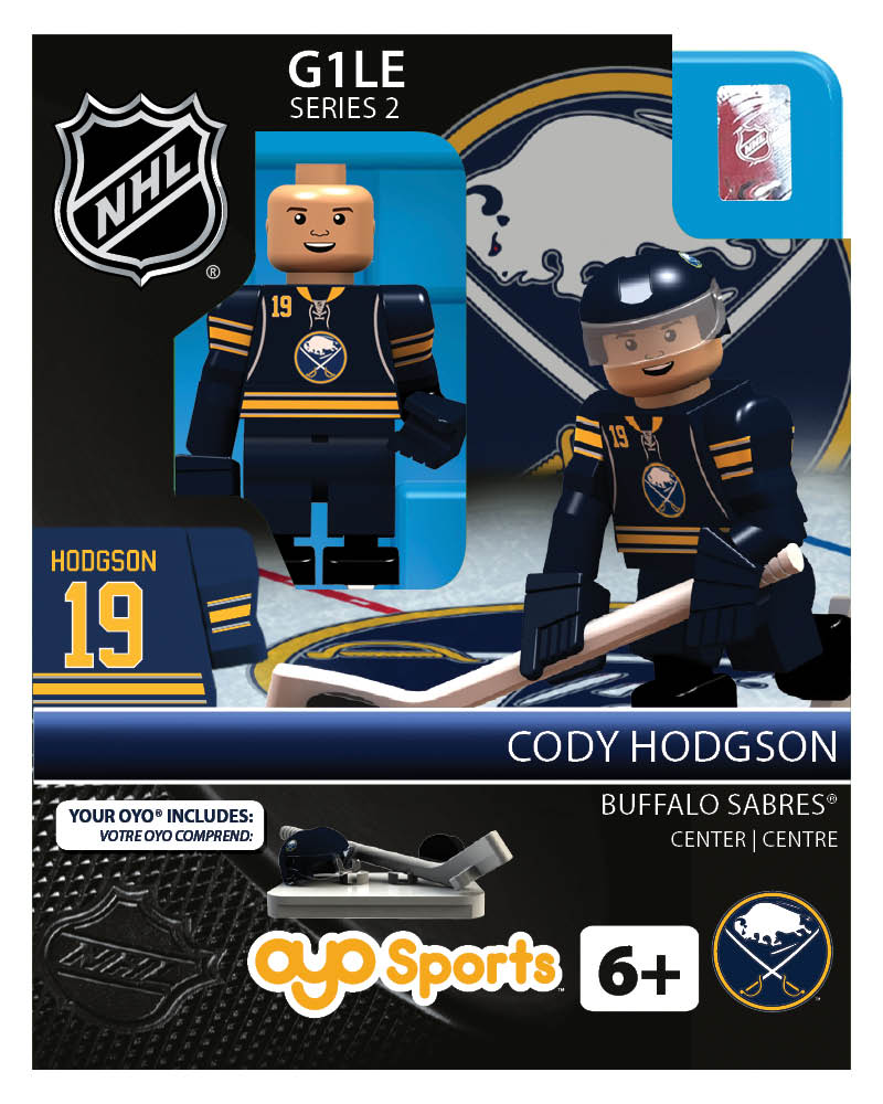 NHL - BUF - Buffalo Sabres Cody Hodgson Home Uniform Limited Edition
