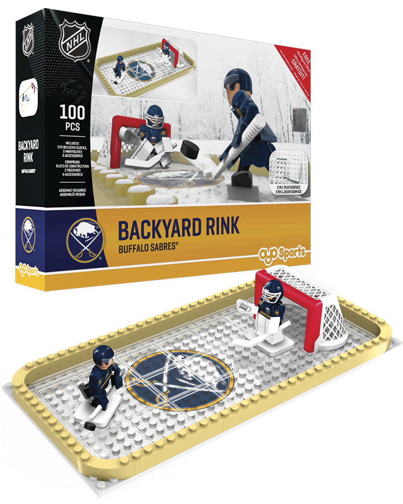 NHL BUF Buffalo Sabres Backyard Rink Set