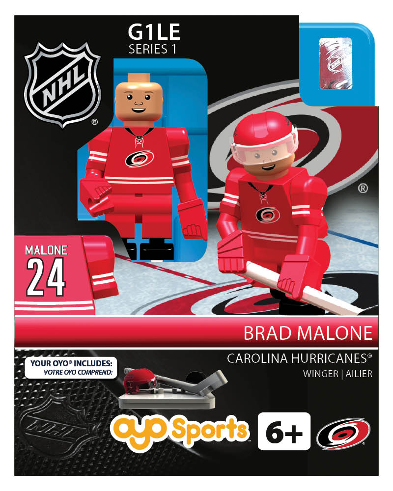 NHL - CAR - Carolina Hurricanes Brad Malone Home Uniform Limited Edition