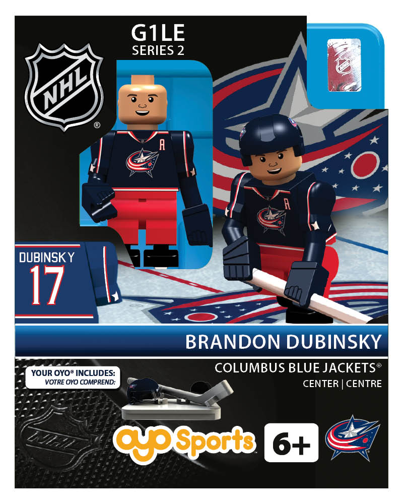 NHL - CBJ - Columbus Blue Jackets Brandon Dubinsky Home Uniform Limited Edition