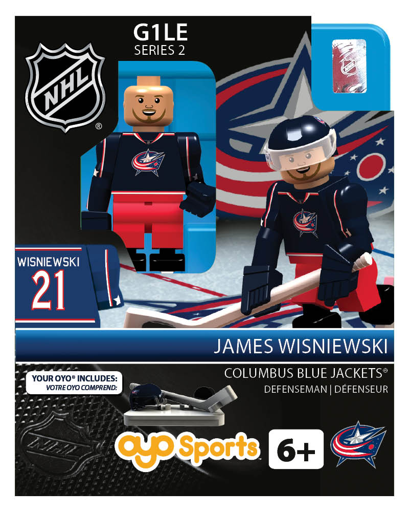 NHL - CBJ - Columbus Blue Jackets James Wisniewski Home Uniform Limited Edition
