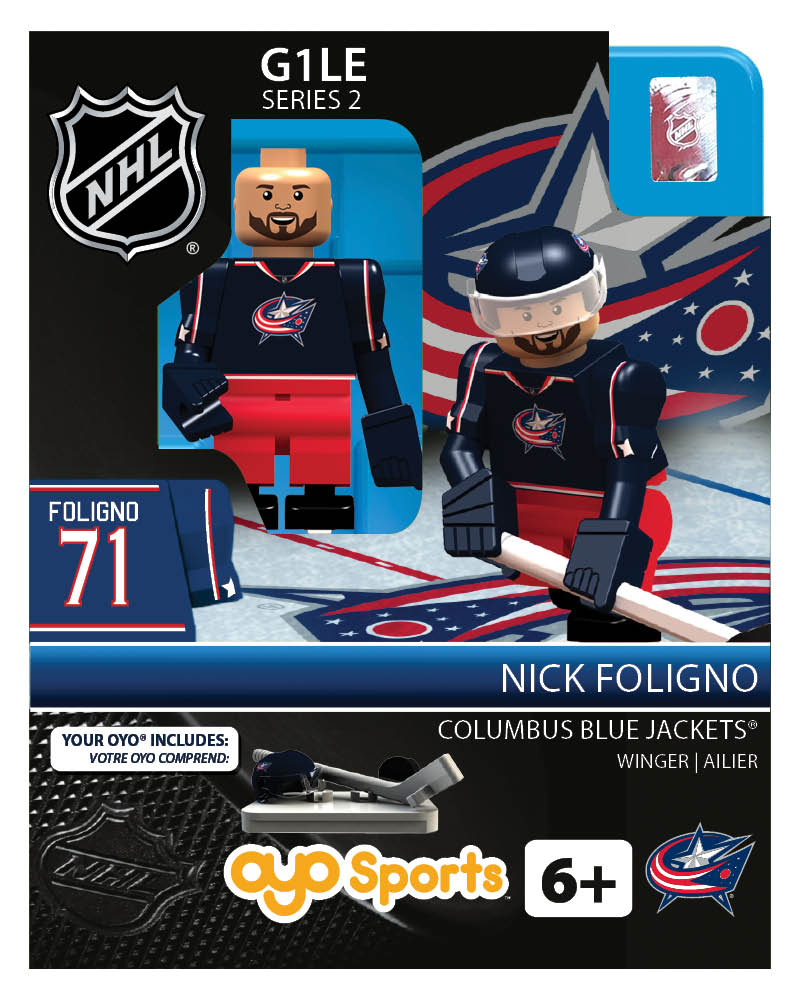 NHL - CBJ - Columbus Blue Jackets Nick Foligno Home Uniform Limited Edition