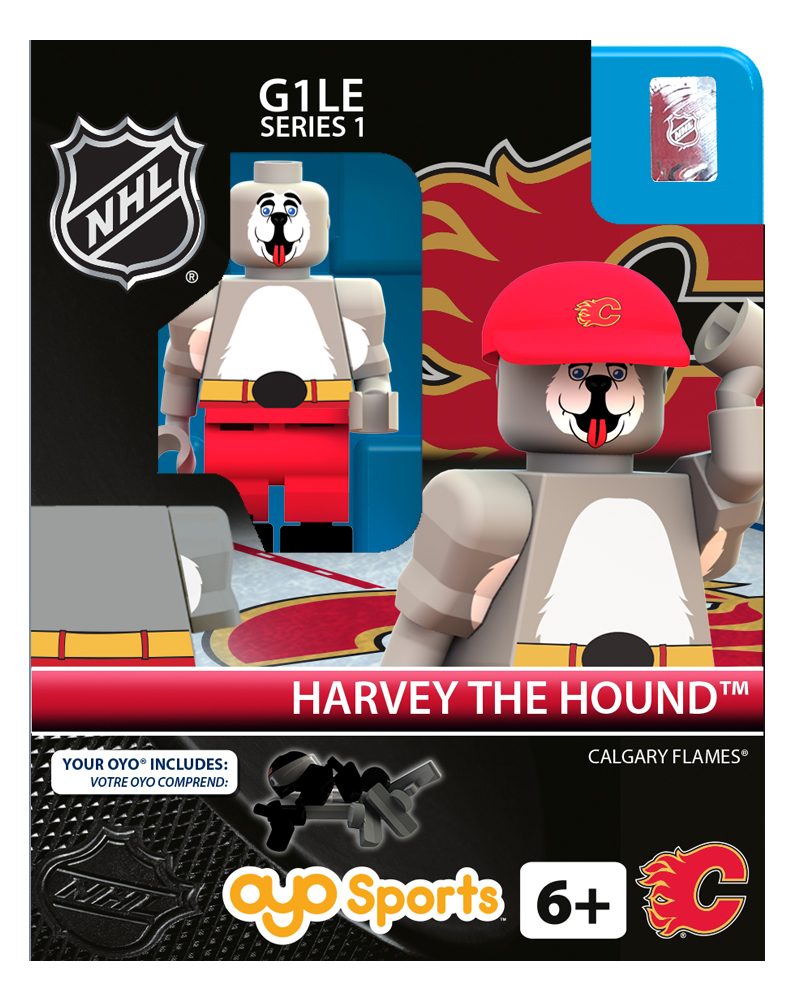 NHL - CGY - Calgary Flames Harvey the Hound the Hound Mascot Mascot Limited Edition