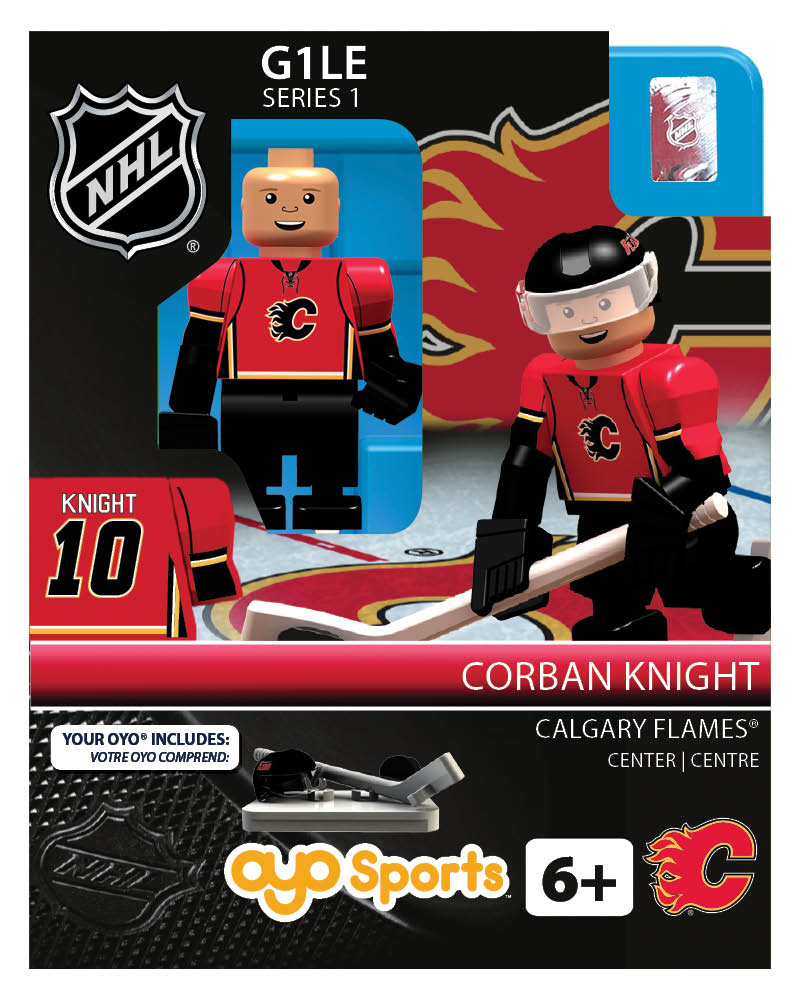 NHL - CGY - Calgary Flames Corban Knight Home Uniform Limited Edition