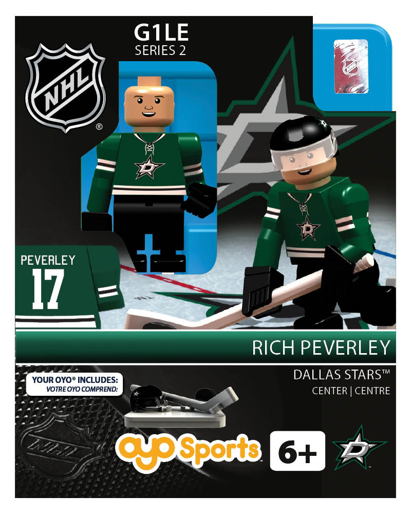 NHL - DAL - Dallas Stars Rich Peverley Home Uniform Limited Edition