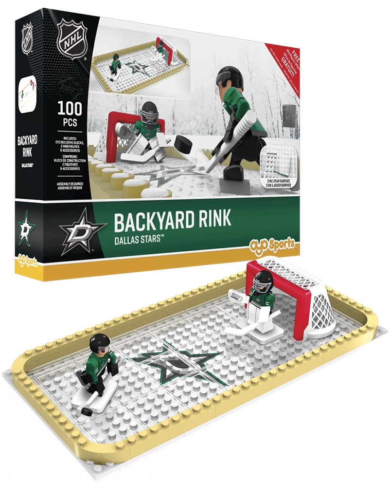 NHL DAL Dallas Stars Backyard Rink Set