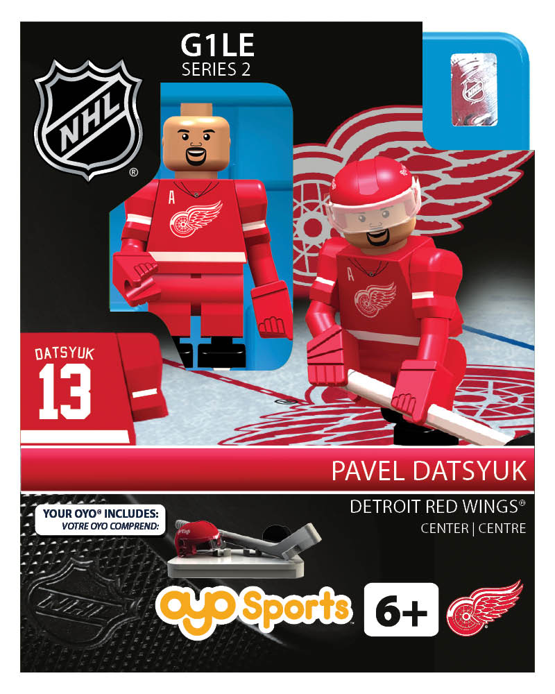 NHL - DET - Detroit Red Wings Pavel Datsyuk Home Uniform Limited Edition