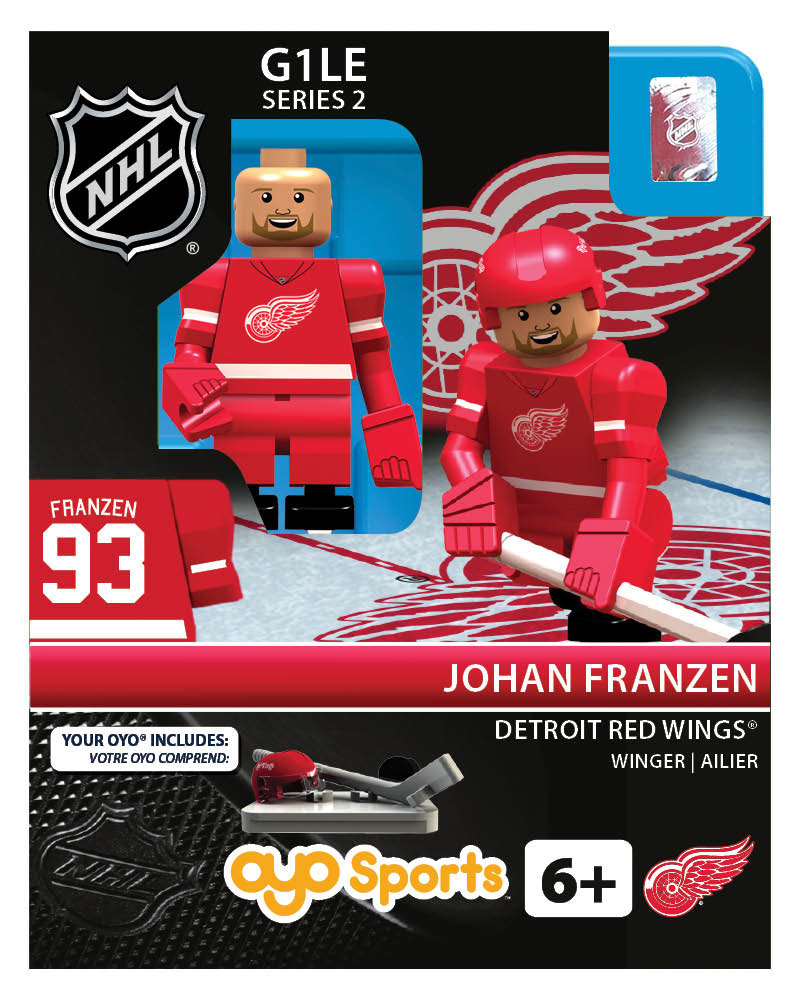 NHL - DET - Detroit Red Wings Johan Franzen Home Uniform Limited Edition