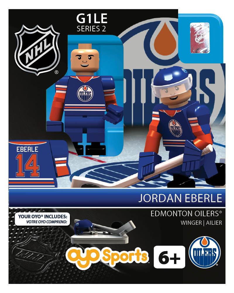 NHL - EDM - Edmonton Oilers Jordan Eberle Home Uniform Limited Edition