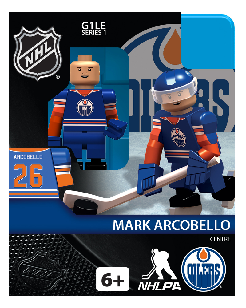 NHL - EDM - Edmonton Oilers Mark Arcobello Home Uniform Limited Edition