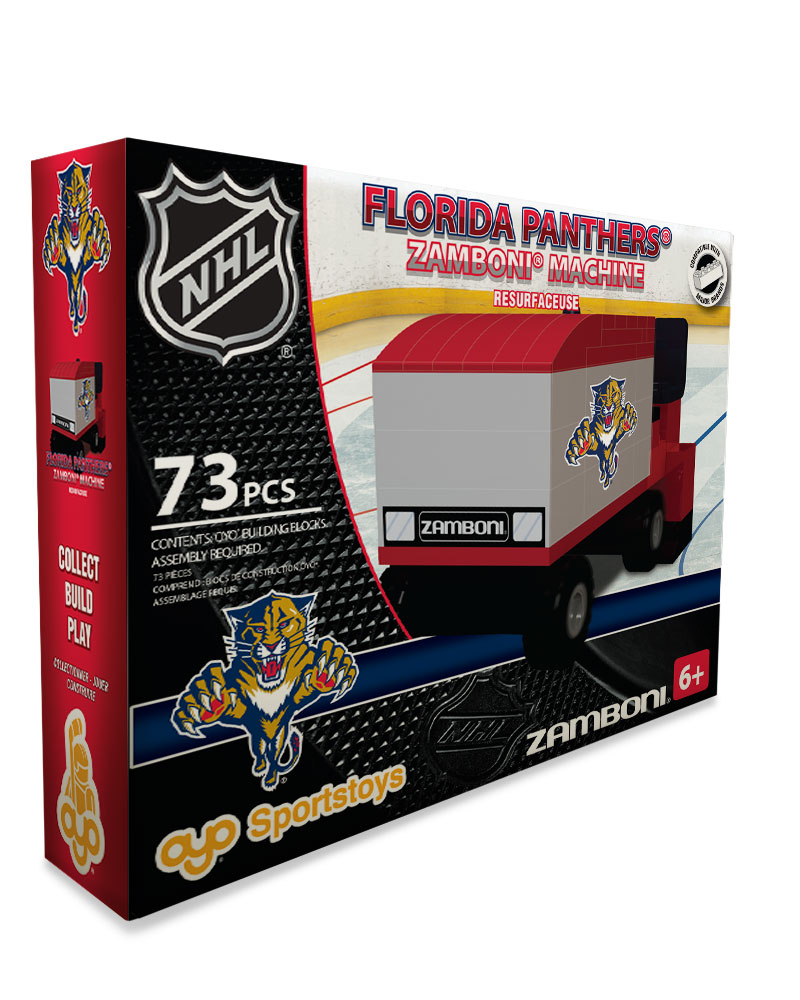 NHL - FLA - Florida Panthers N/A N/A Hockey Zamboni Set