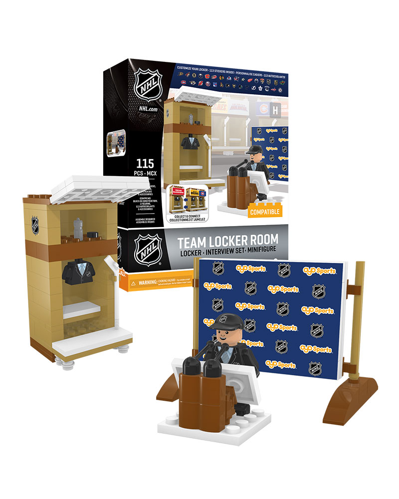 NHL GEN All Locker Room Set