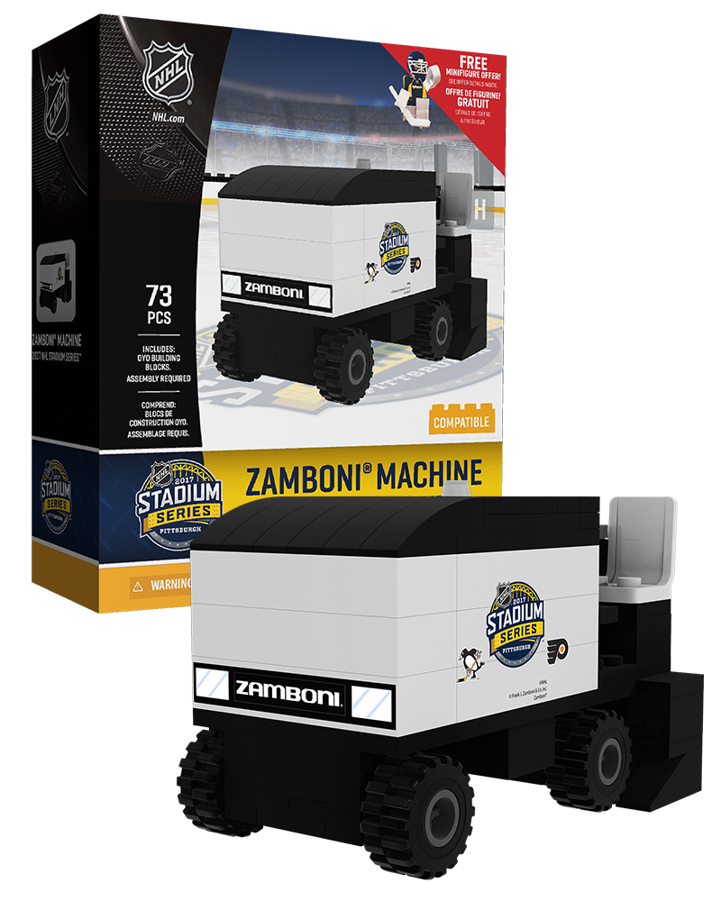 NHL GEN All Stadium Series Hockey Zamboni Set