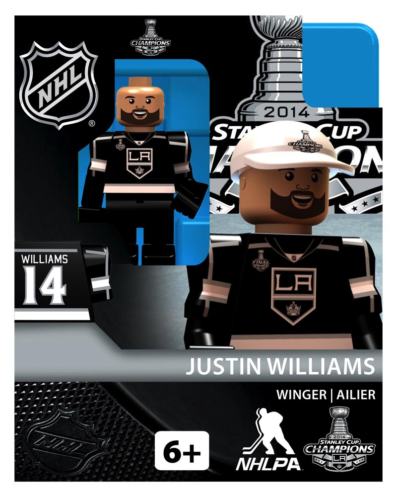 NHL - LOS - Los Angeles Kings Justin Williams Stanley Cup Champion Limited Edition