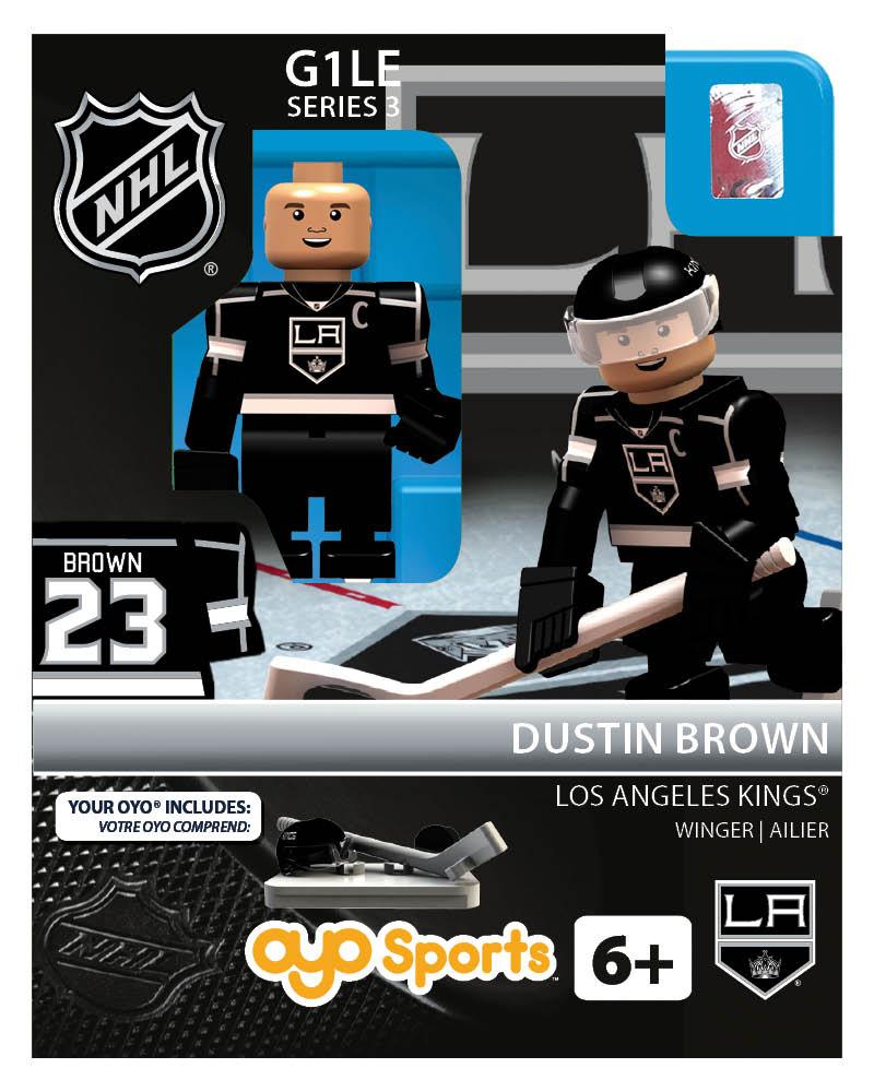 NHL - LOS - Los Angeles Kings Dustin Brown Home Uniform Limited Edition