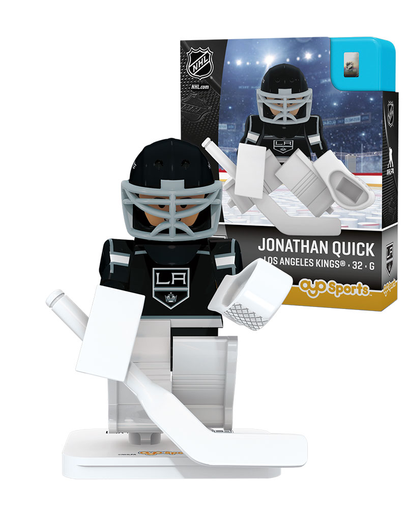NHL - LOS - Los Angeles Kings JONATHAN QUICK Home Uniform Limited Edition NHL Goalie 82336