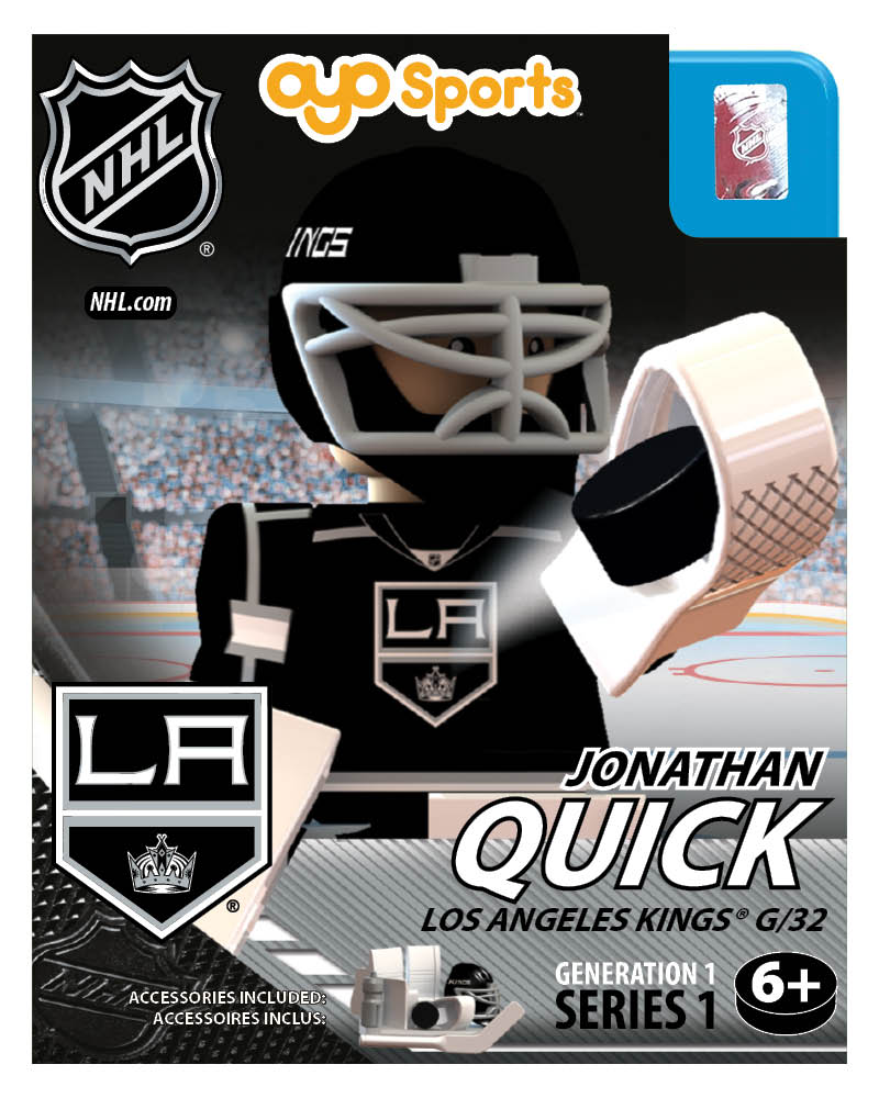 NHL - LOS - Los Angeles Kings Jonathan Quick Home Uniform Limited Edition NHL Goalie