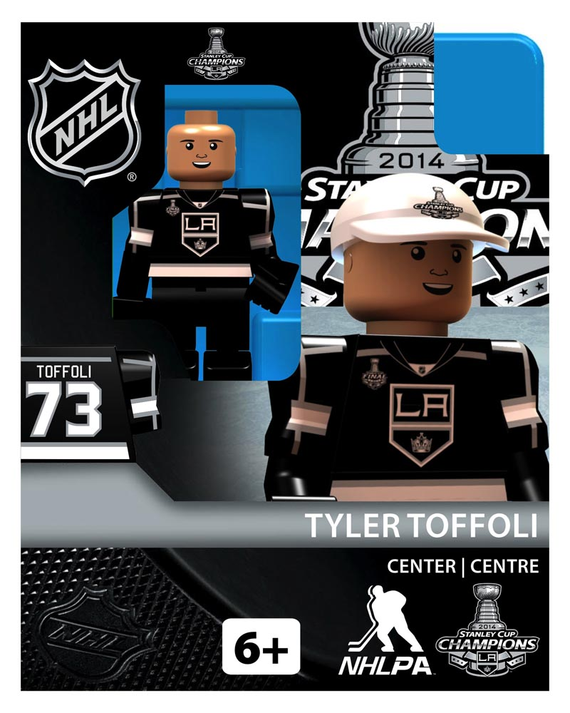 NHL - LOS - Los Angeles Kings Tyler Toffoli Stanley Cup Champion Limited Edition