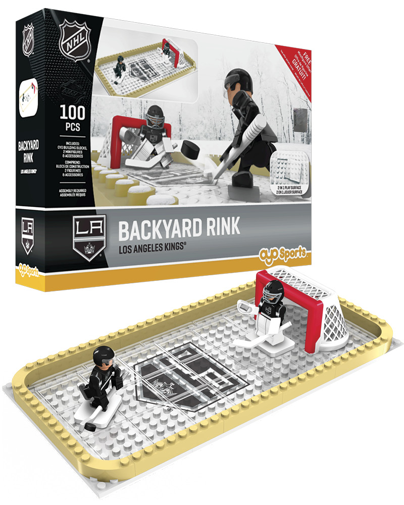 NHL LOS Los Angeles Kings Backyard Rink Set