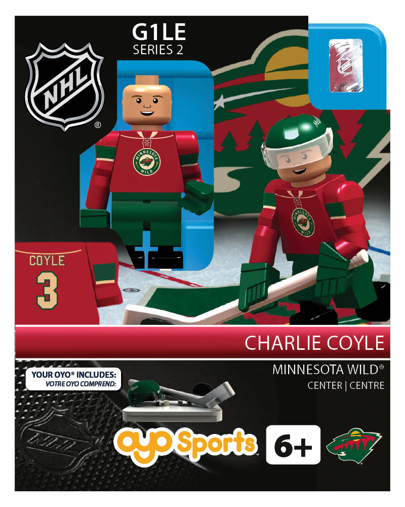 NHL - MIN - Minnesota Wild Charlie Coyle Home Uniform Limited Edition