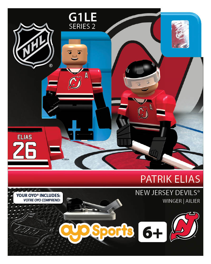NHL - NJD - New Jersey Devils Patrik Elias Home Uniform Limited Edition