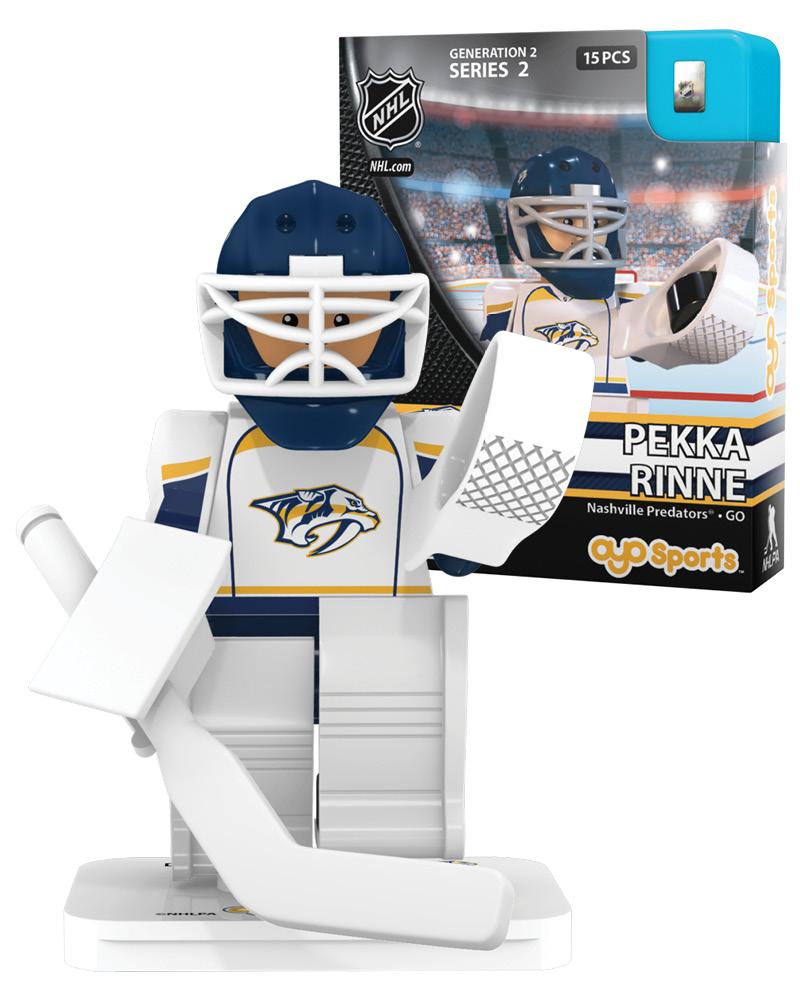 NHL - NSH - Nashville Predators PEKKA RINNE Stanley Cup Champion Limited Edition NHL Goalie 89048