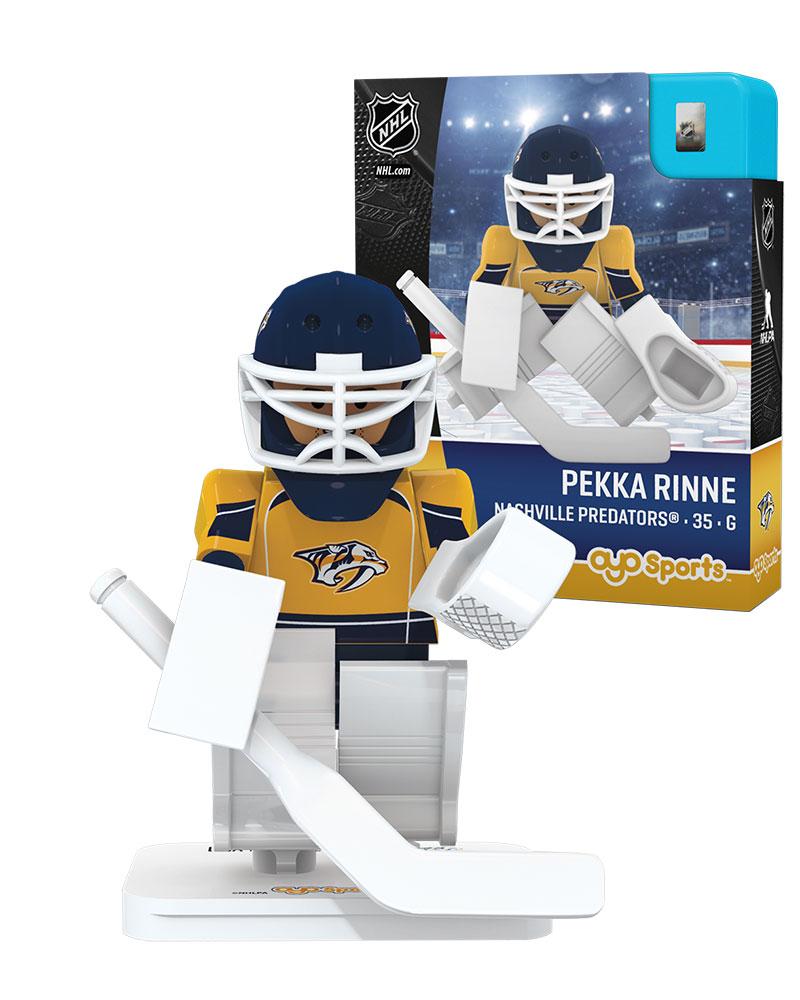 NHL - NSH - Nashville Predators PEKKA RINNE Home Uniform Limited Edition NHL Goalie 82351