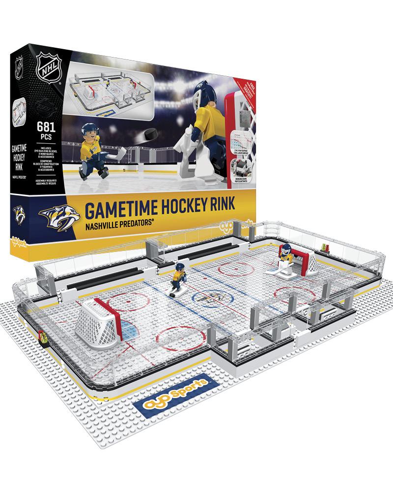NHL - NSH - Nashville Predators Full Rink Set 783