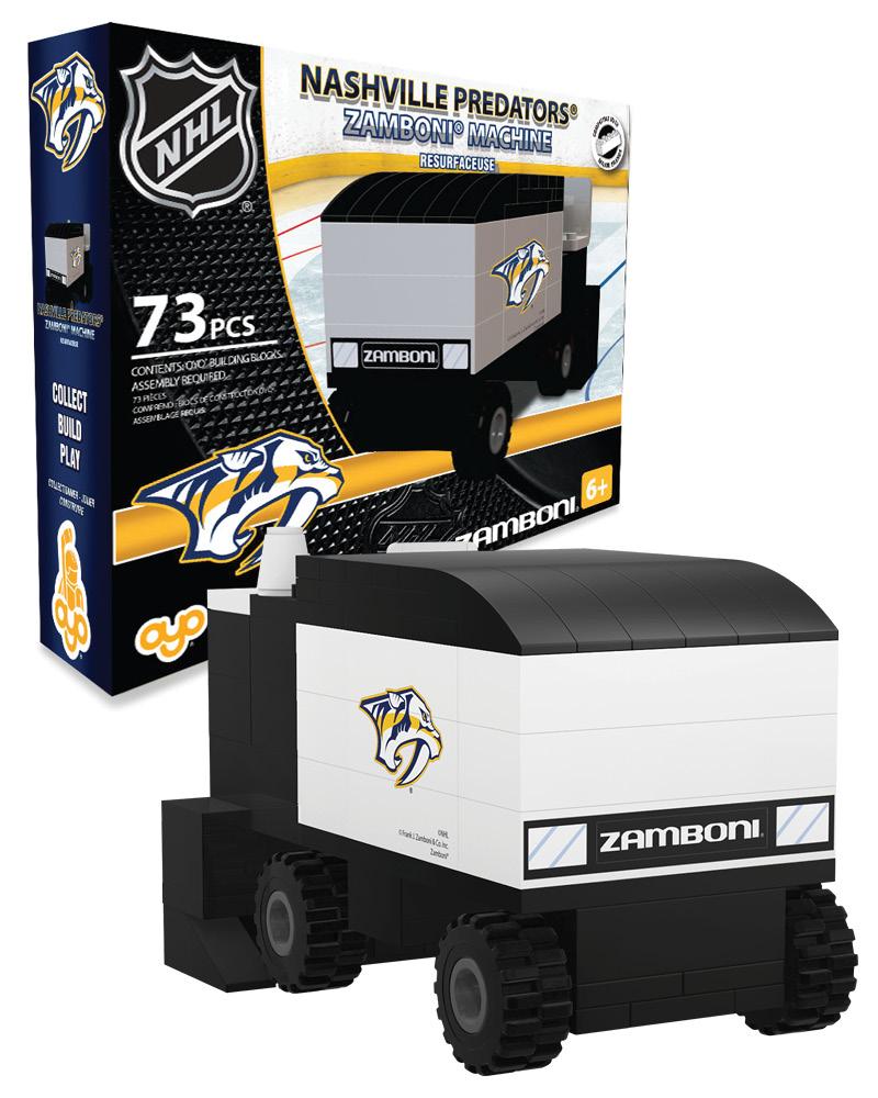 NHL - NSH - Nashville Predators N/A N/A Hockey Zamboni Set 542
