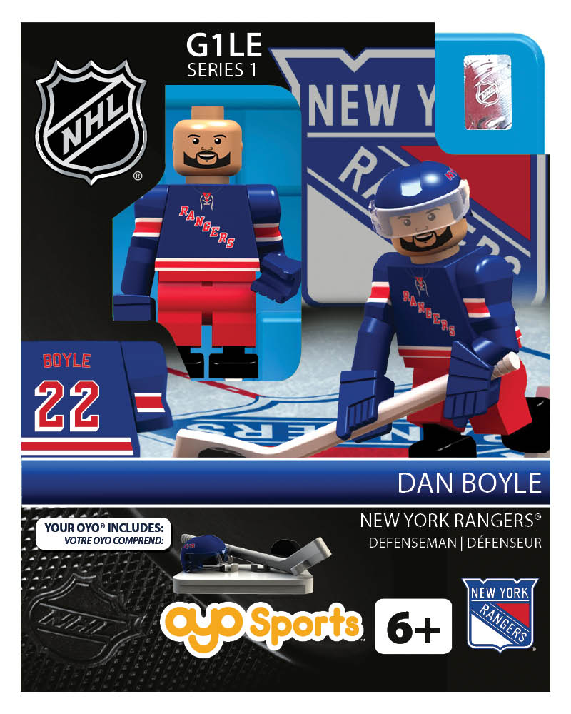 NHL - NYR - New York Rangers Dan Boyle Home Uniform R2 Limited Edition