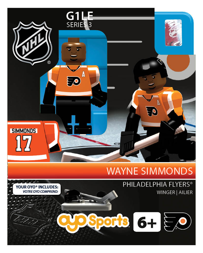 NHL - PHI - Philadelphia Flyers Wayne Simmonds Home Uniform Limited Edition