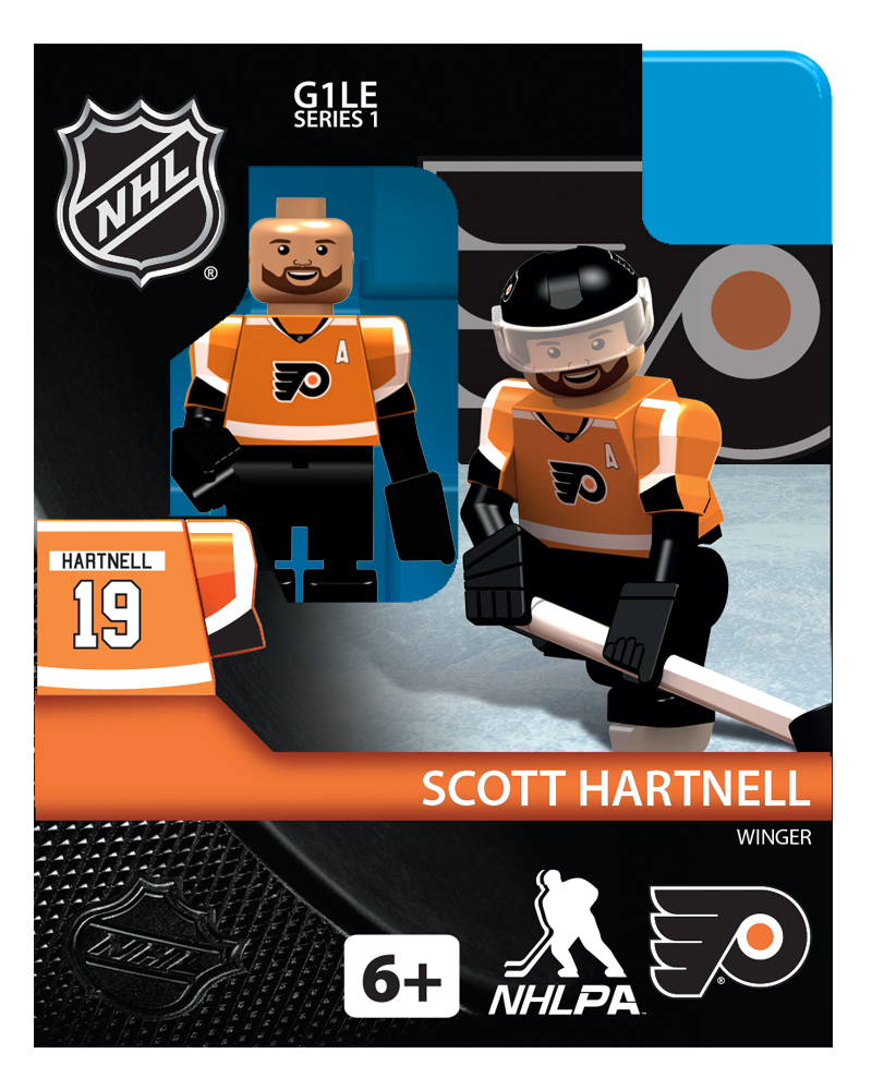 NHL - PHI - Philadelphia Flyers Scott Hartnell Home Uniform Limited Edition