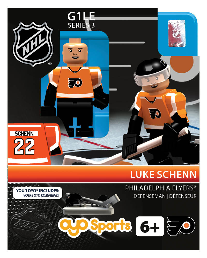 NHL - PHI - Philadelphia Flyers Luke Schenn Home Uniform Limited Edition