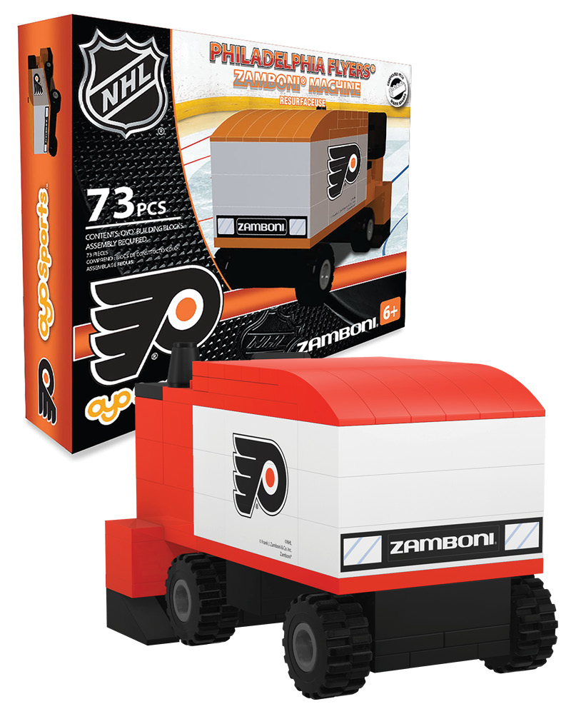 NHL PHI Philadelphia Flyers N A N A Hockey Zamboni Set