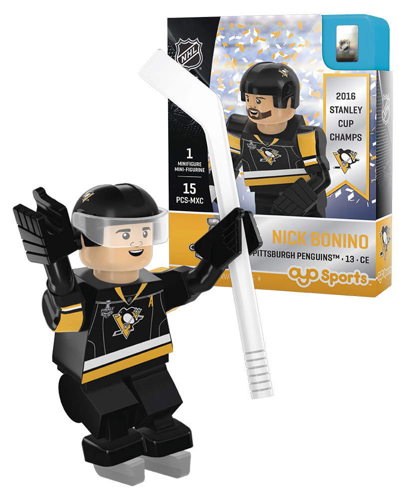 NHL - PIT - PittsburghÿPirates NICK BONINO Stanley Cup Champion Limited Edition 2726