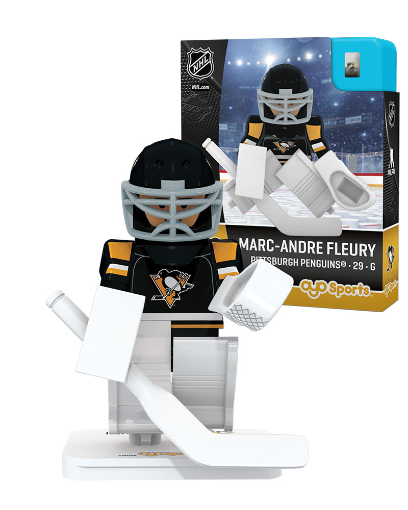 NHL - PIT - Pittsburgh Penguins MARC-ANDRE FLEURY Home Uniform Limited Edition NHL Goalie 82375