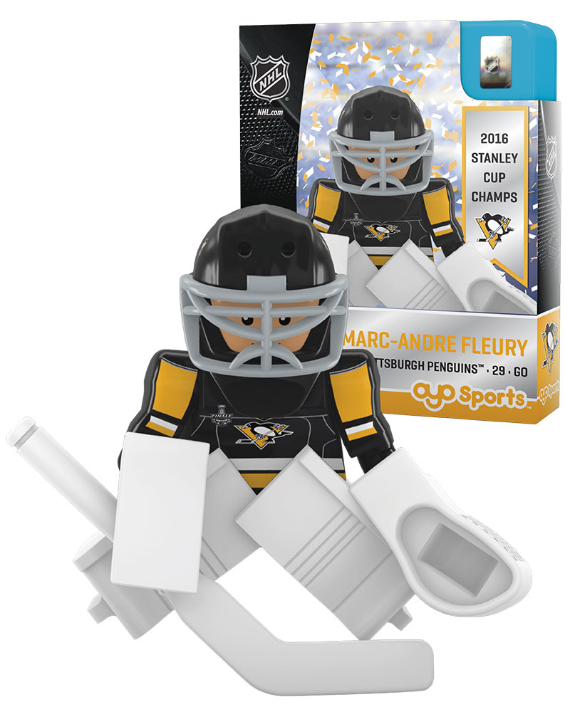 NHL - PIT - Pittsburgh Penguins MARC-ANDRE FLEURY Stanley Cup Champion Limited Edition NHL Goalie 2724