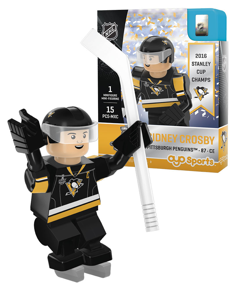 NHL - PIT - Pittsburgh Penguins SIDNEY CROSBY Stanley Cup Champion Limited Edition 2731