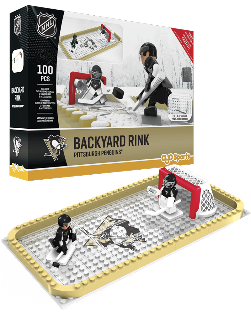 NHL - PIT - Pittsburgh Penguins Backyard Rink Set 827