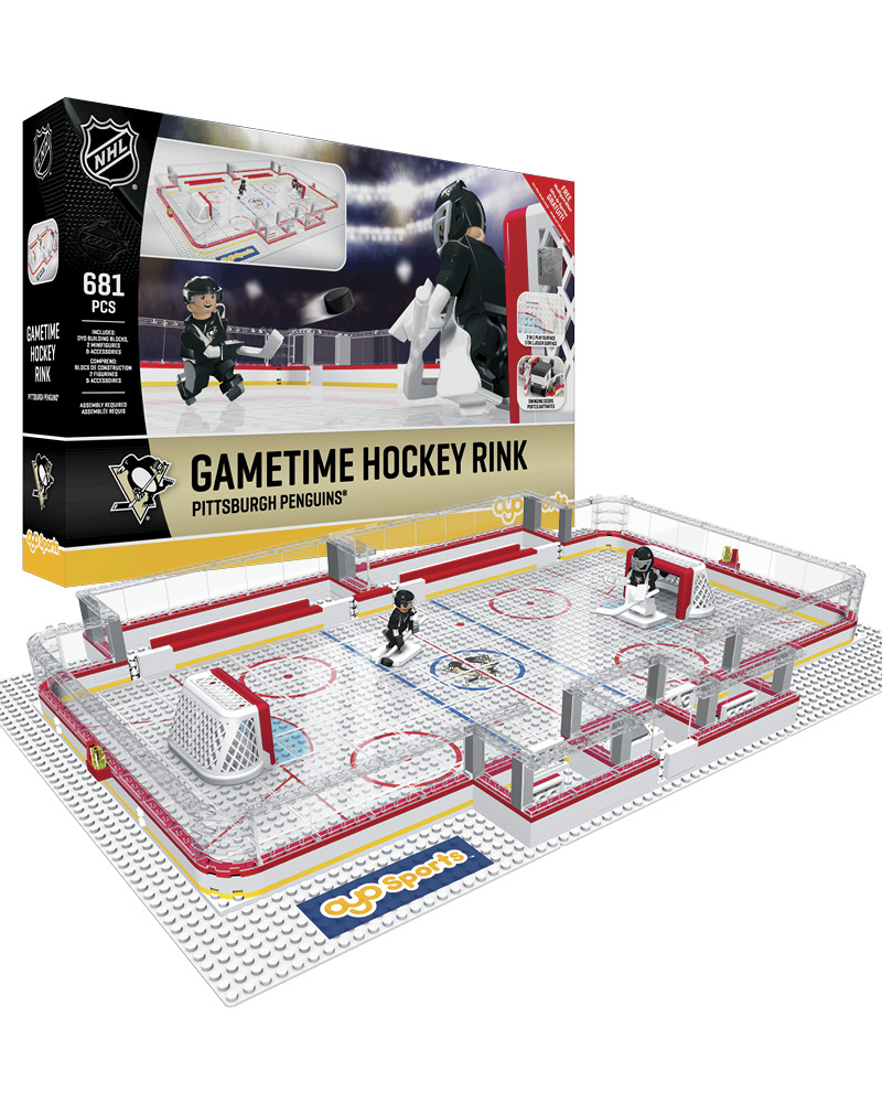 NHL - PIT - Pittsburgh Penguins Full Rink Set 780