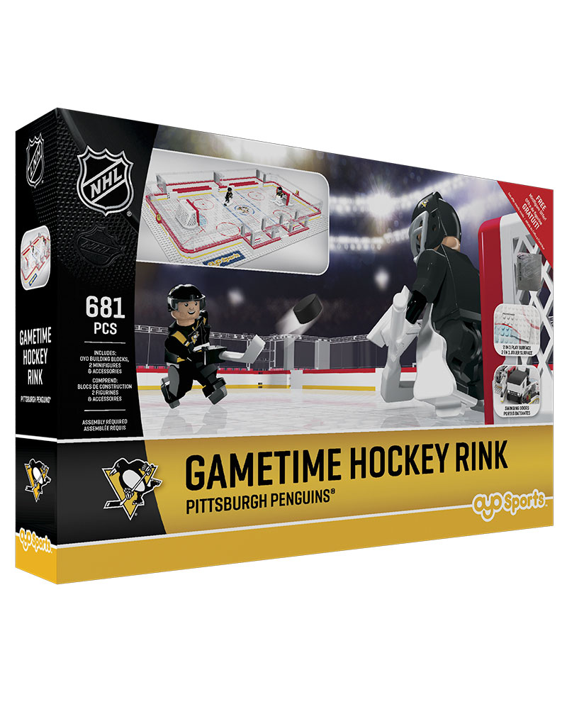 gametime rink pittsburgh penguins oyo sports nhl minifigures