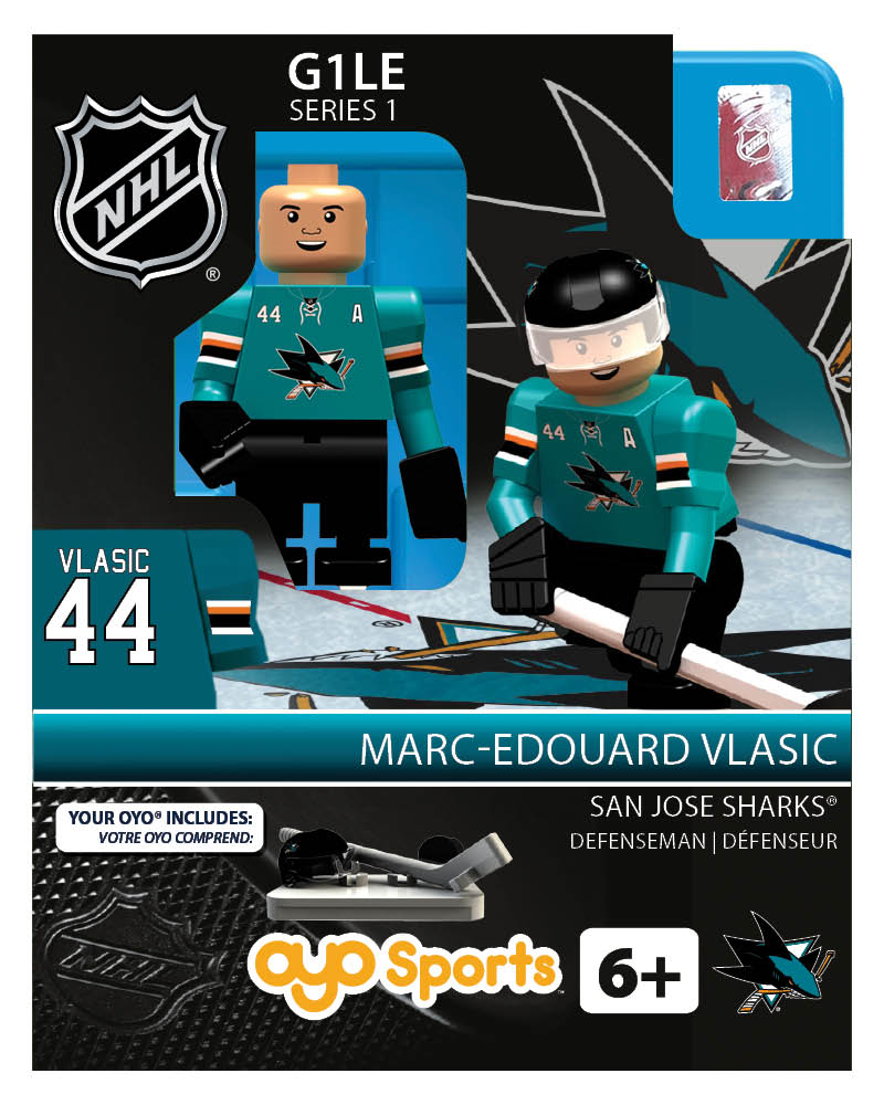NHL - SJS - San Jose Sharks Marc-Edouard Vlasic Home Uniform Limited Edition