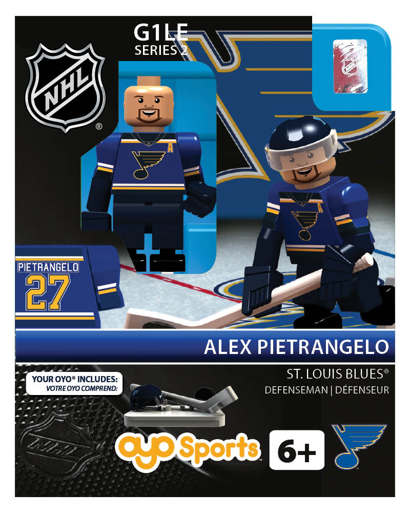 NHL - STL - St. Louis Blues Alex Pietrangelo Home Uniform R2 Limited Edition