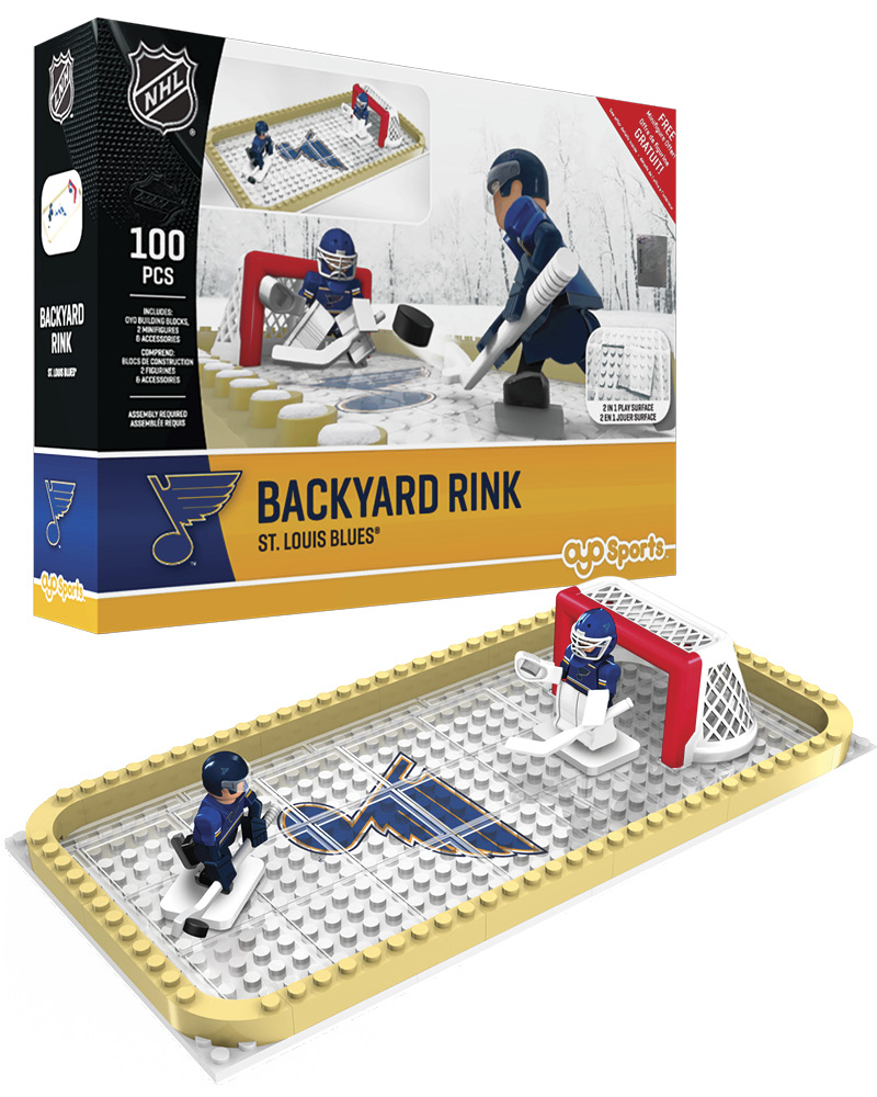NHL STL St. Louis Blues Backyard Rink Set