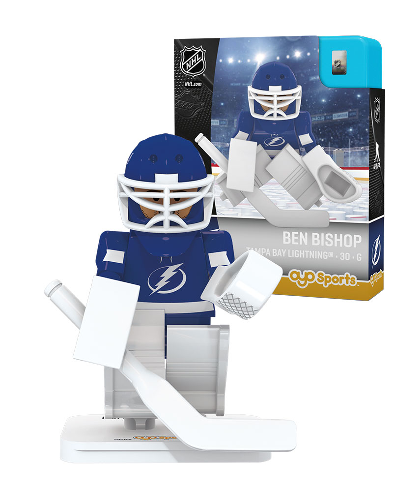 NHL TBL Tampa Bay Lightning BEN BISHOP Home Uniform Limited Edition NHL Goalie
