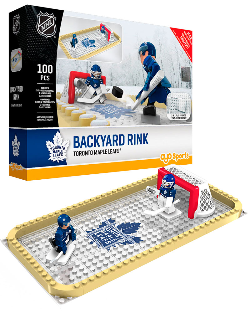 NHL TOR Toronto Maple Leafs Backyard Rink Set