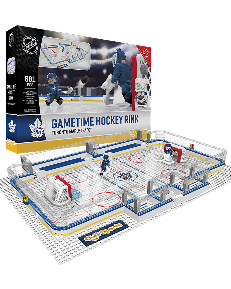 gametime rink toronto maple leafs oyo sports nhl minifigures