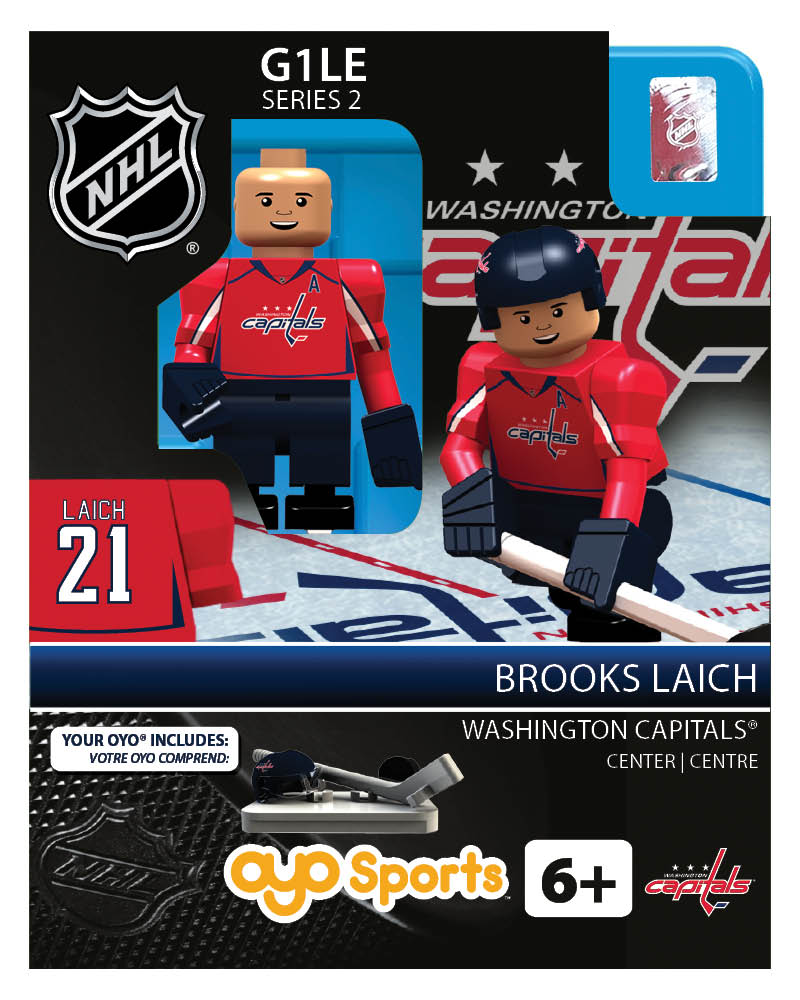 NHL - WAS - Washington Capitals Brooks Laich Home Uniform Limited Edition